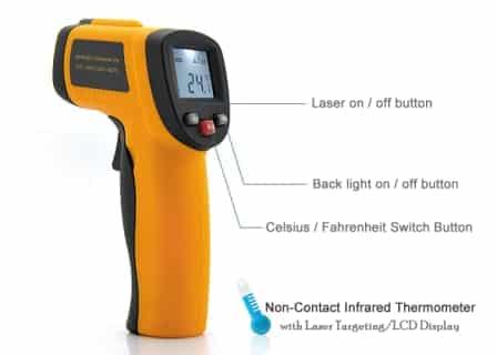 Non Contact Digital Corona Thermometer